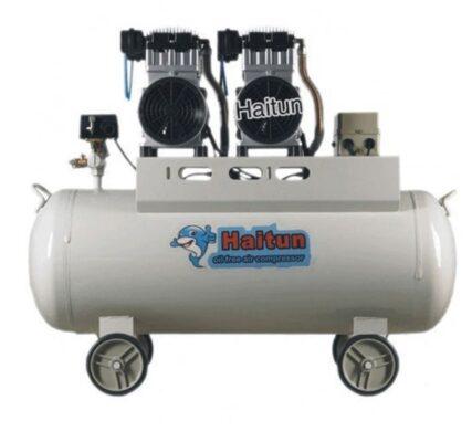 Máy nén khí không dầu Haitun 2 đầu nén