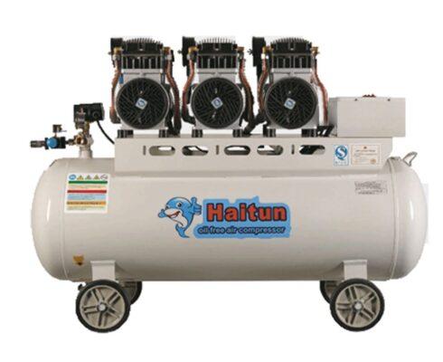 Máy nén khí không dầu Haitun 3 đầu nén